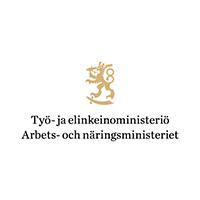 Työ- ja elinkeinoministeriö logo