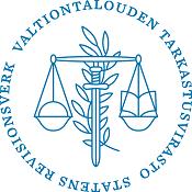 Valtiontalouden tarkastusvirasto logo